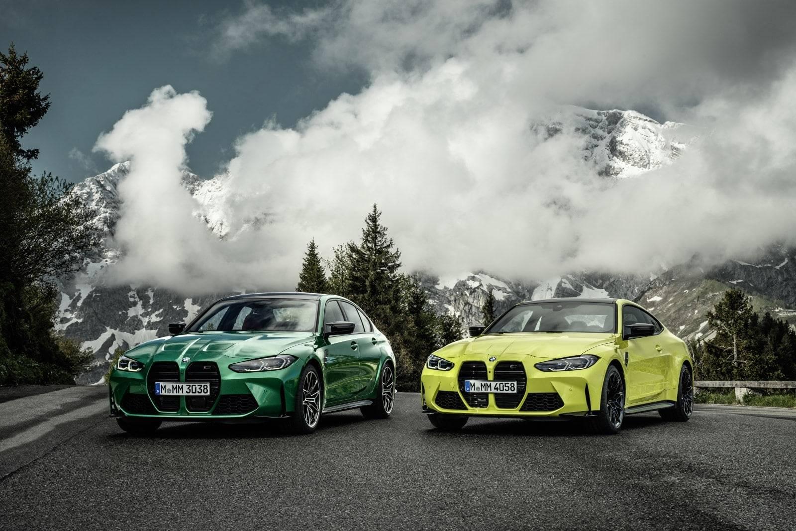 Новые BMW М3 G80 и BMW М4 G82 1