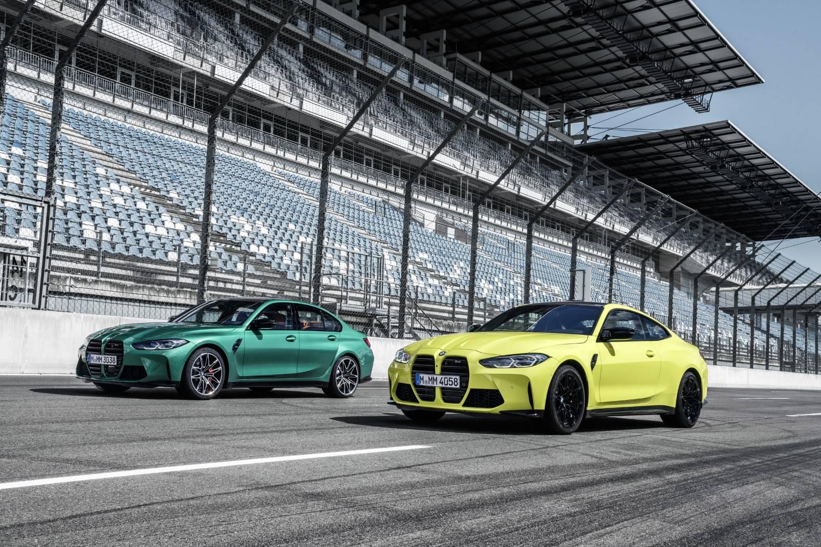 Новые BMW М3 G80 и BMW М4 G82 2