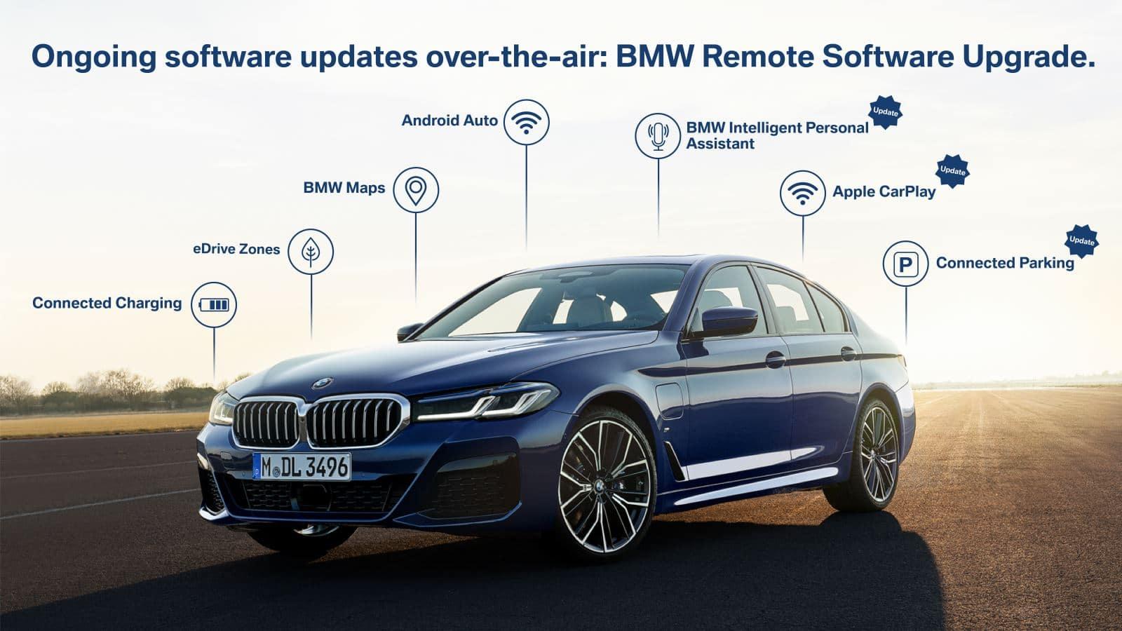 Обновление ОС BMW 7 стало крупнейшим в истории BMW Group 1