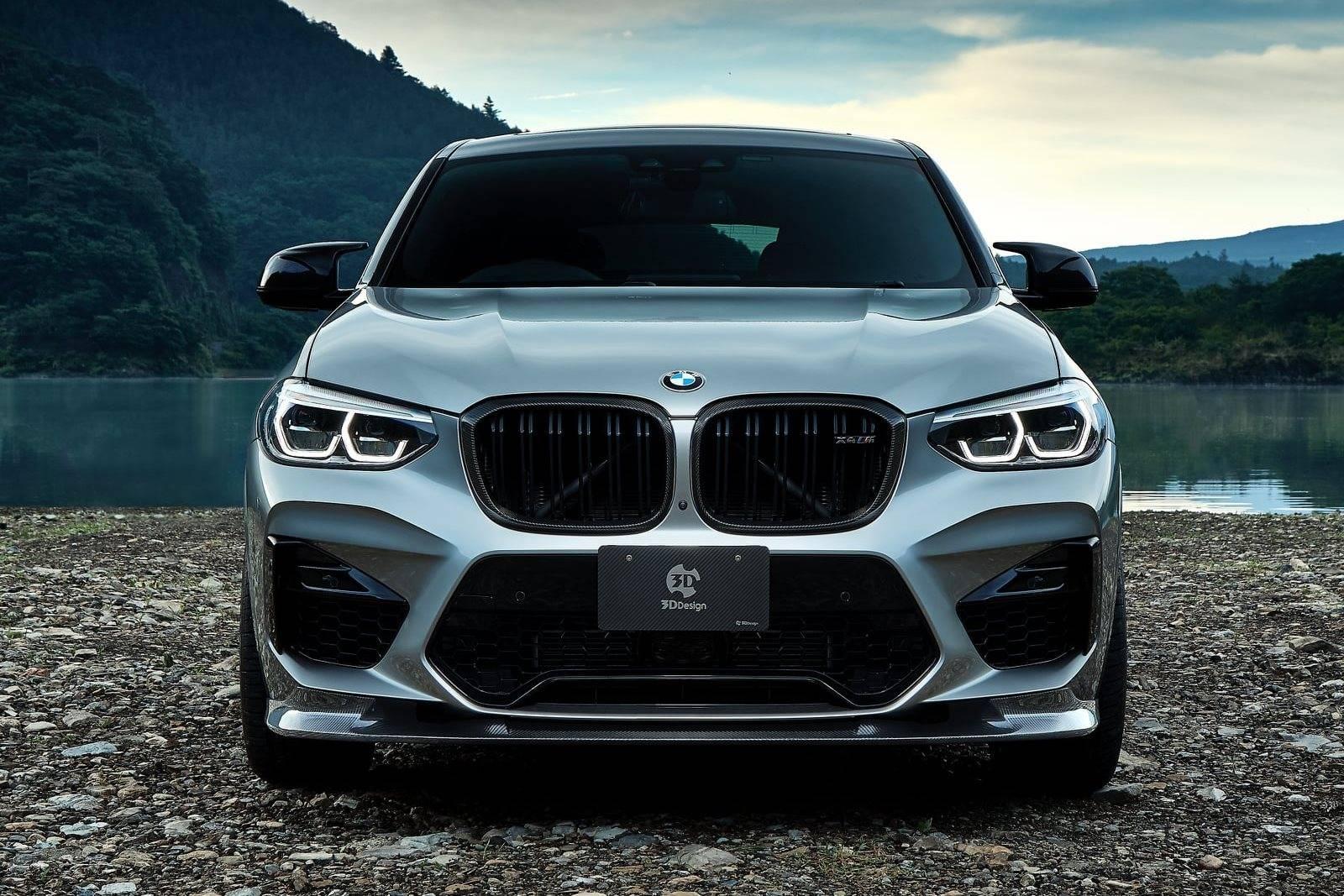 Обвес BMW X4 M F98 от 3D Design 1