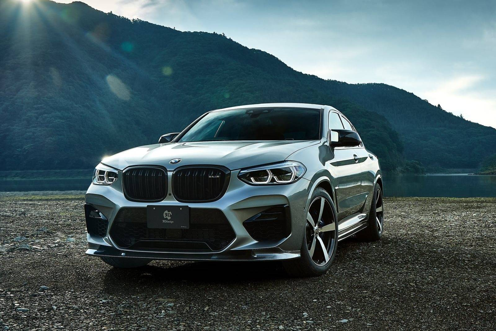 Обвес BMW X4 M F98 от 3D Design 3