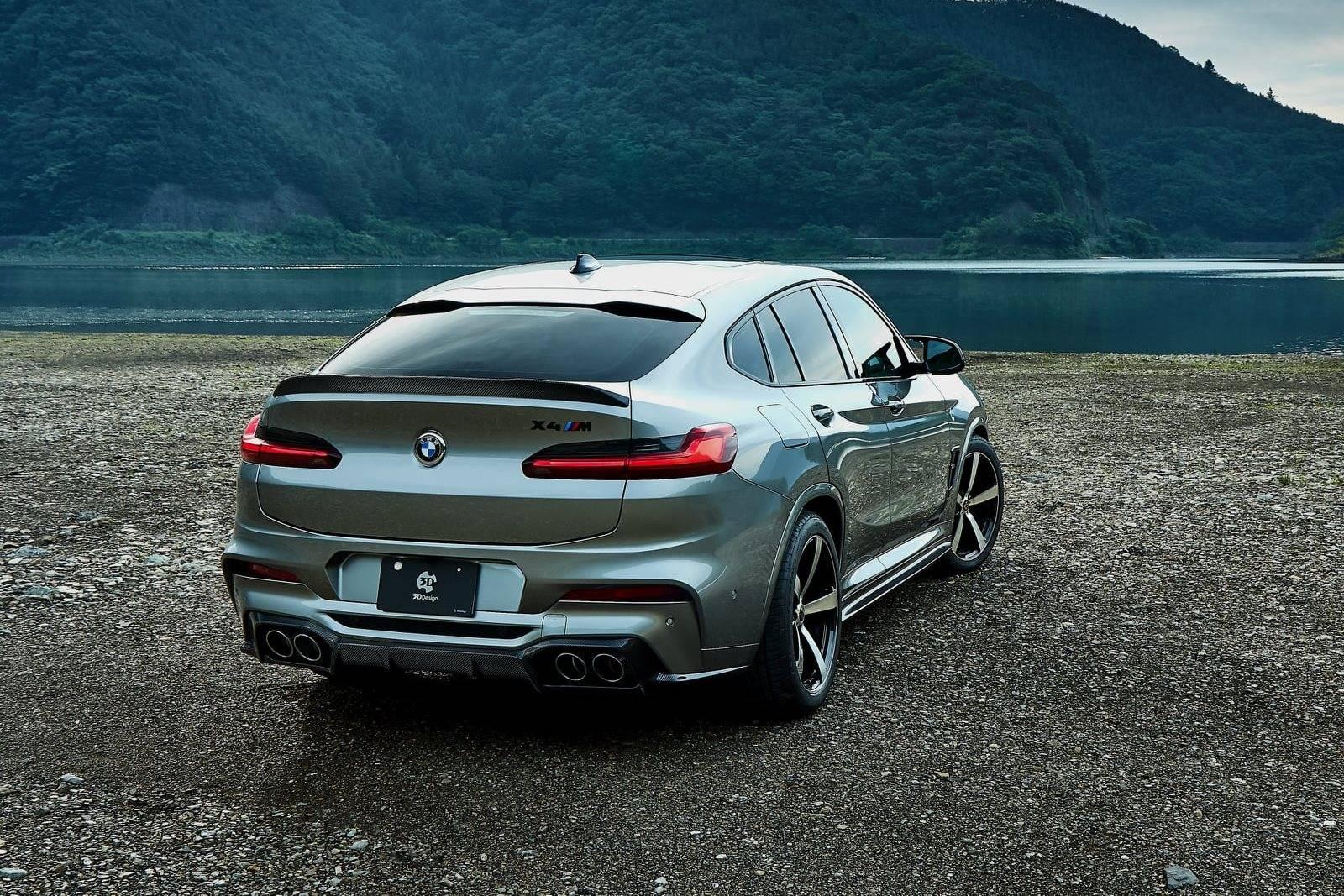 Обвес BMW X4 M F98 от 3D Design 4