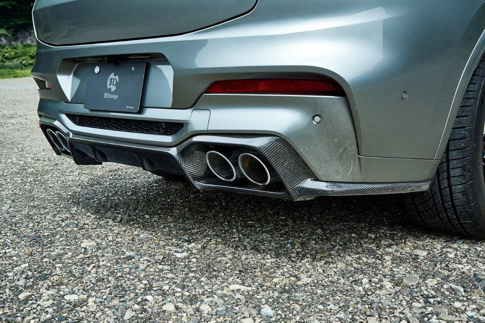 Обвес BMW X4 M F98 от 3D Design 6