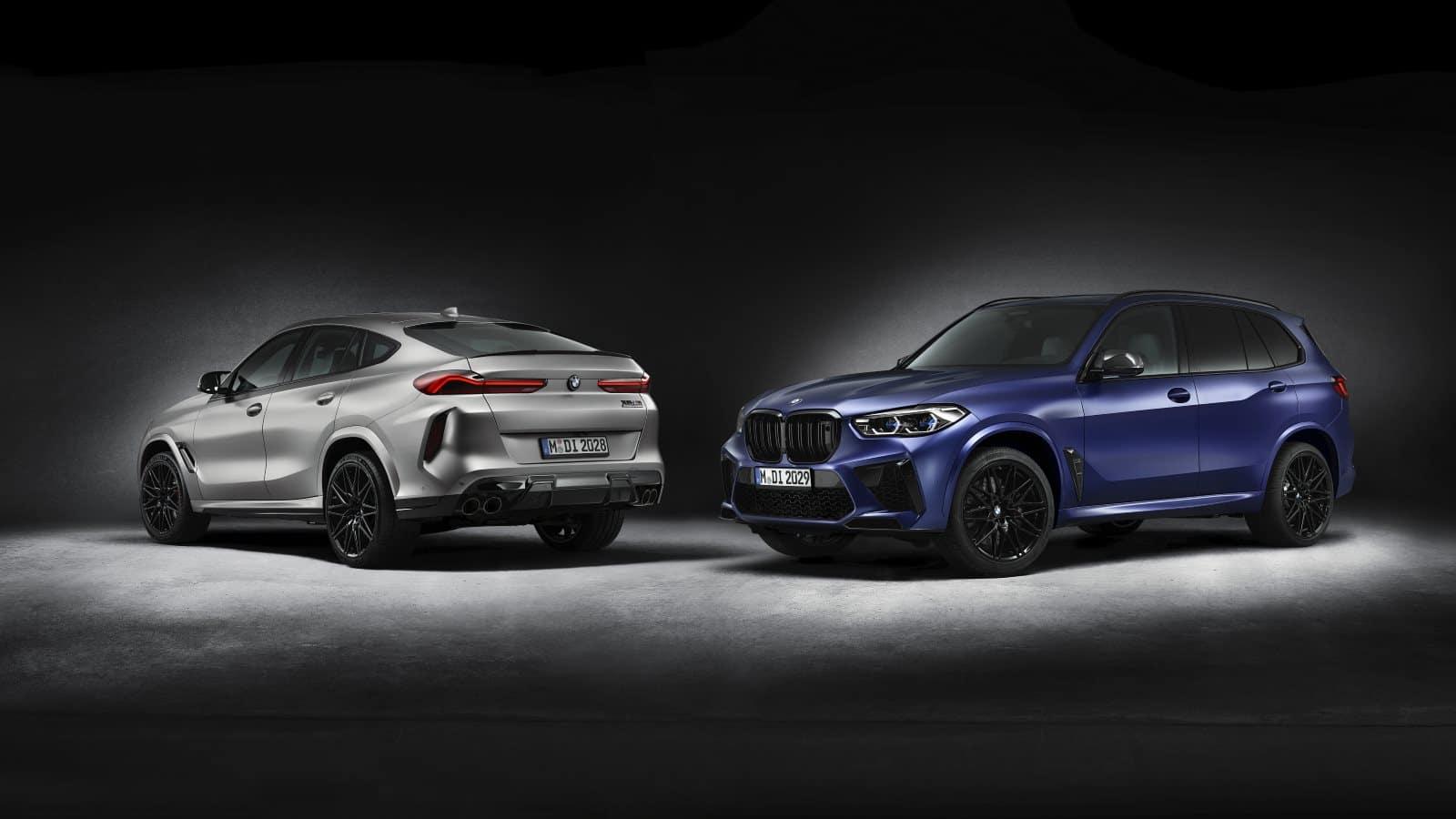 BMW X5 M Competition и BMW X6 M Competition