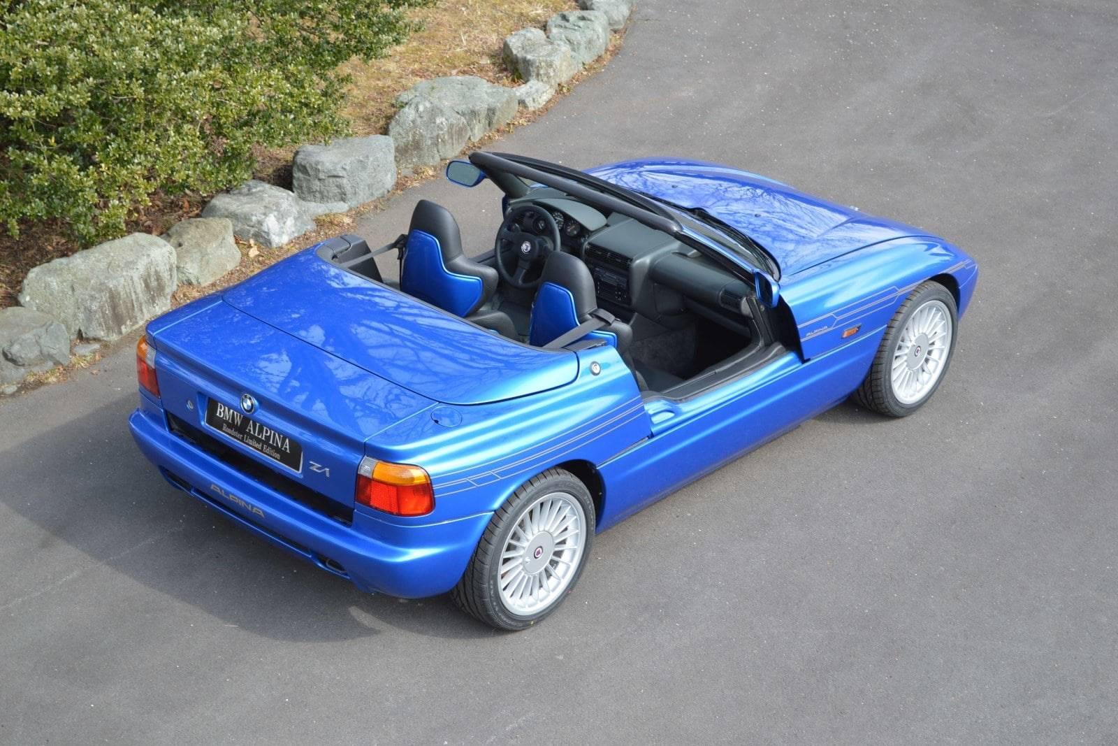 30-летие BMW ALPINA Roadster Limited Edition - BMW Z1 E30 4