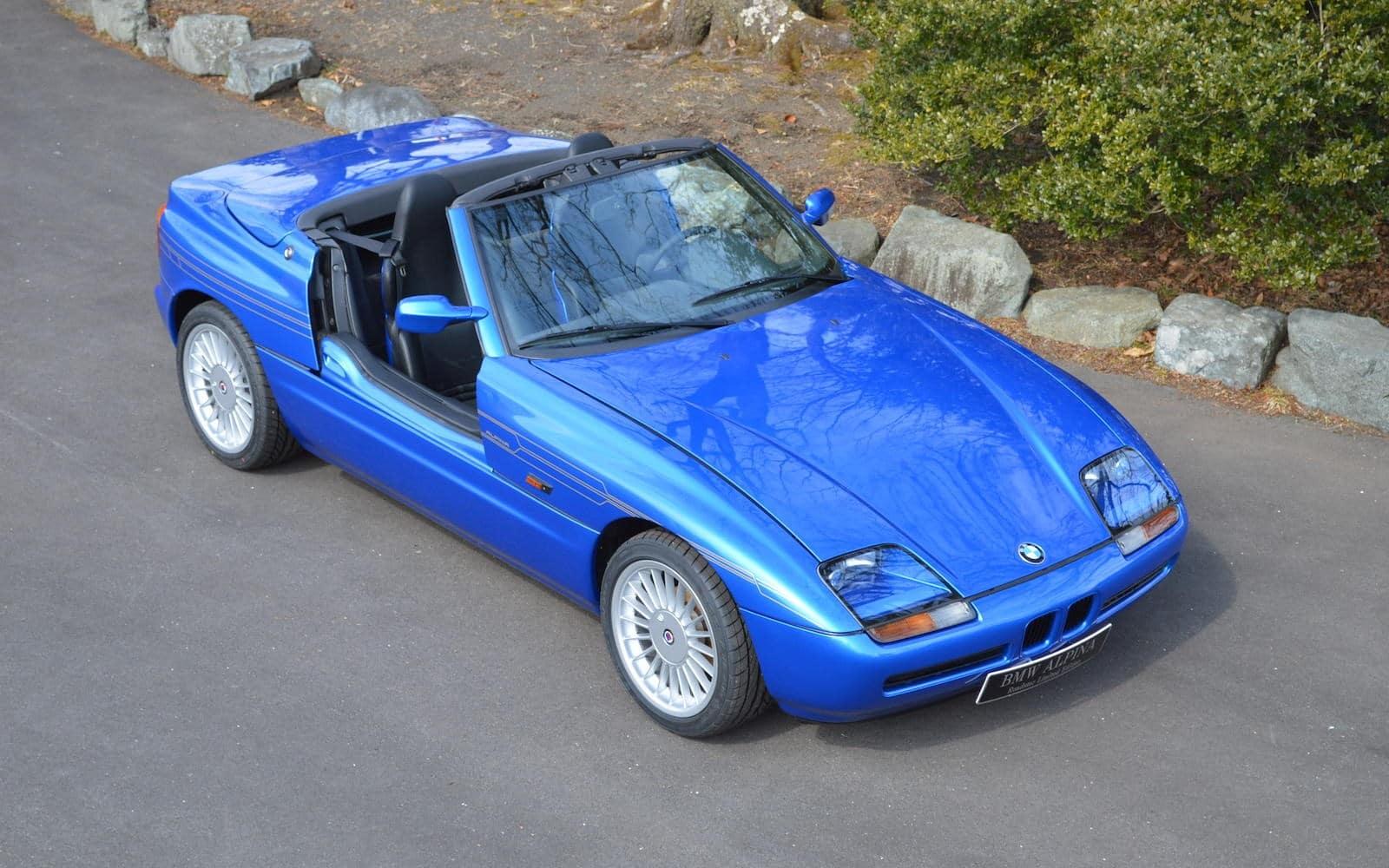 30-летие BMW ALPINA Roadster Limited Edition - BMW Z1 E30 3