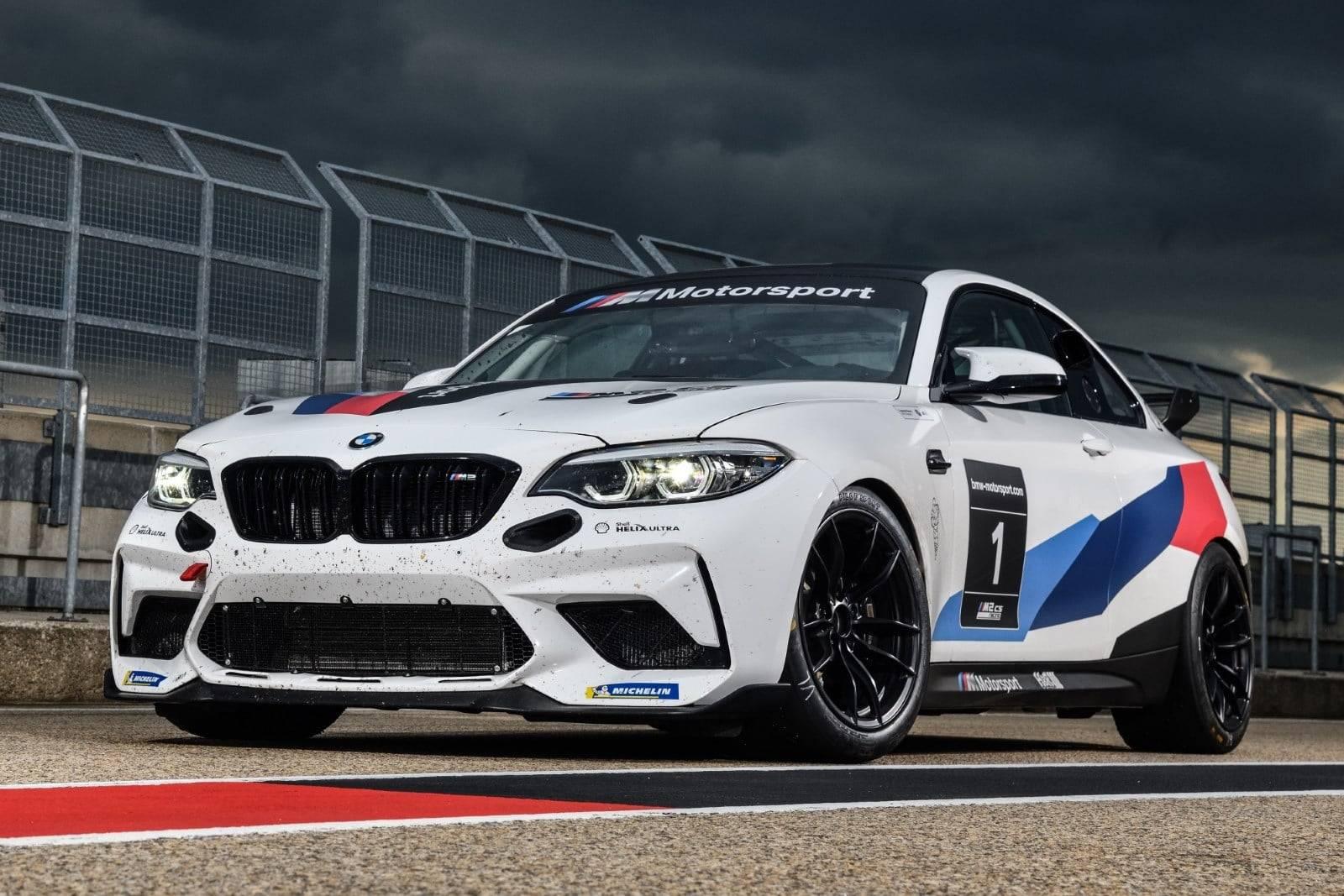 Новый BMW M2 CS Racing выступит в Нюрбургринге в 2021 году 3