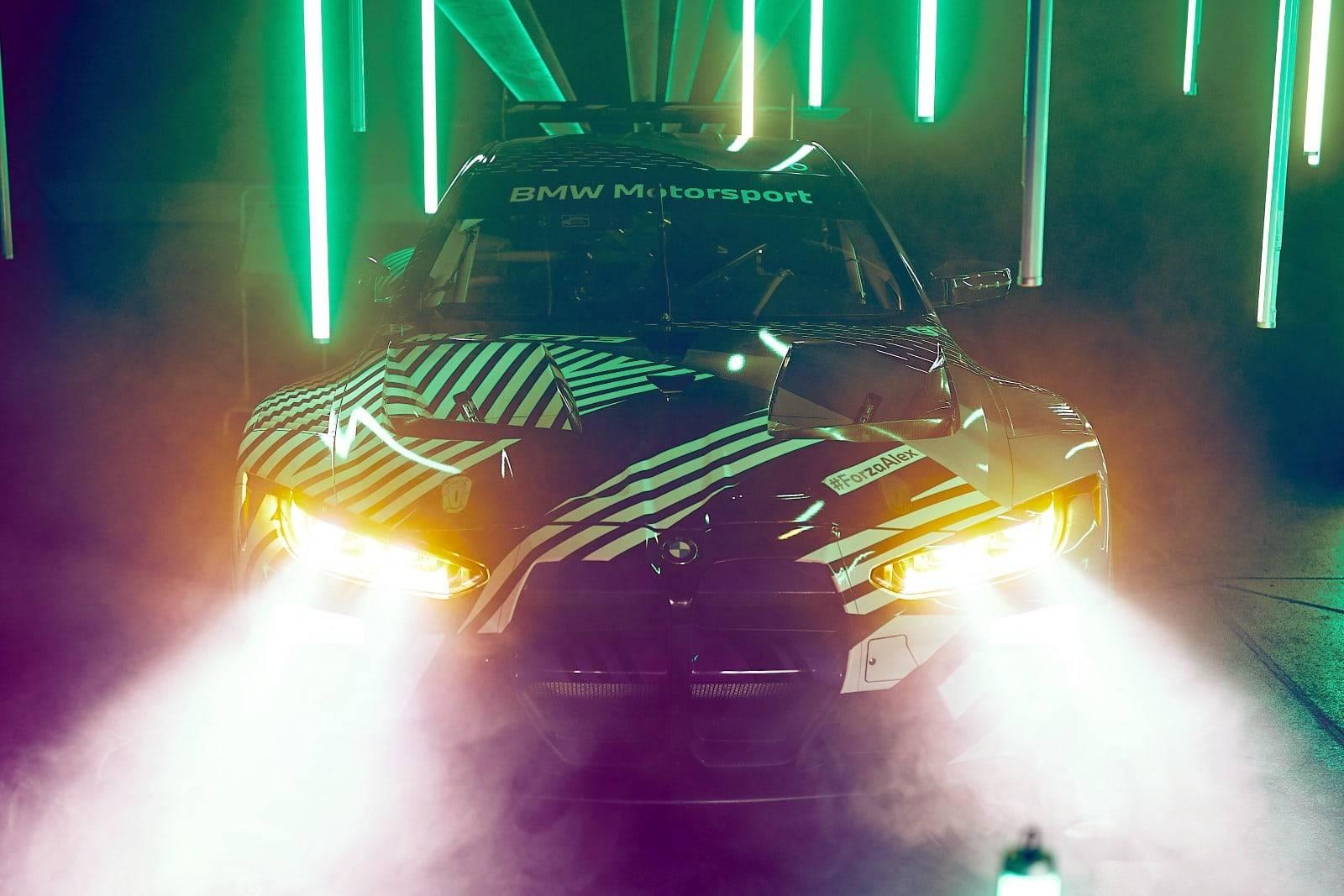 Новый BMW M4 GT3 - мощь и инновации 1