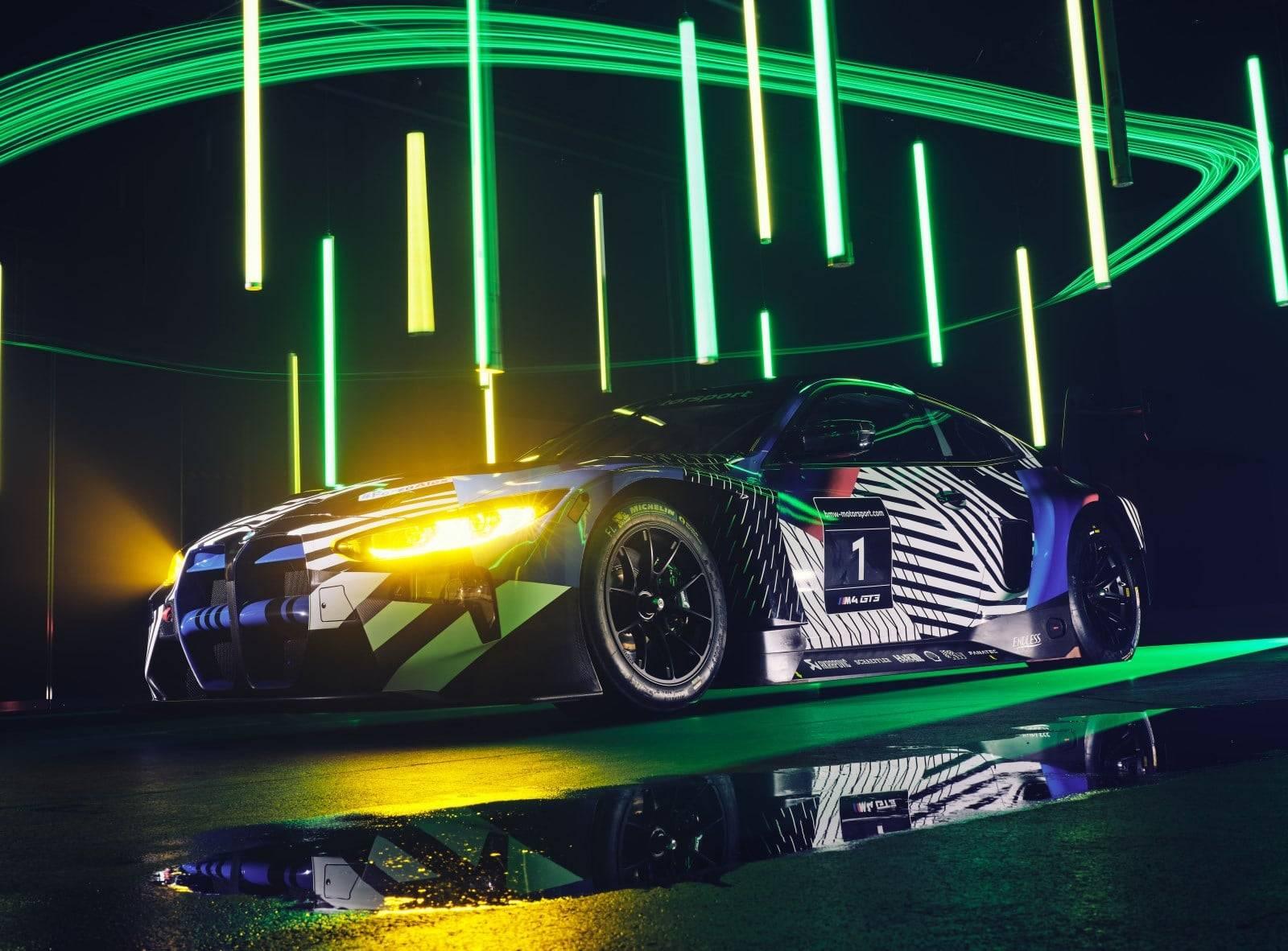 Новый BMW M4 GT3 - мощь и инновации 2