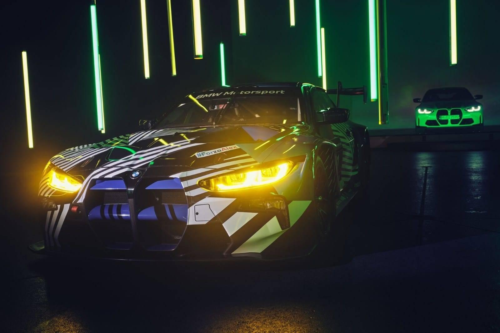 Новый BMW M4 GT3 - мощь и инновации 5