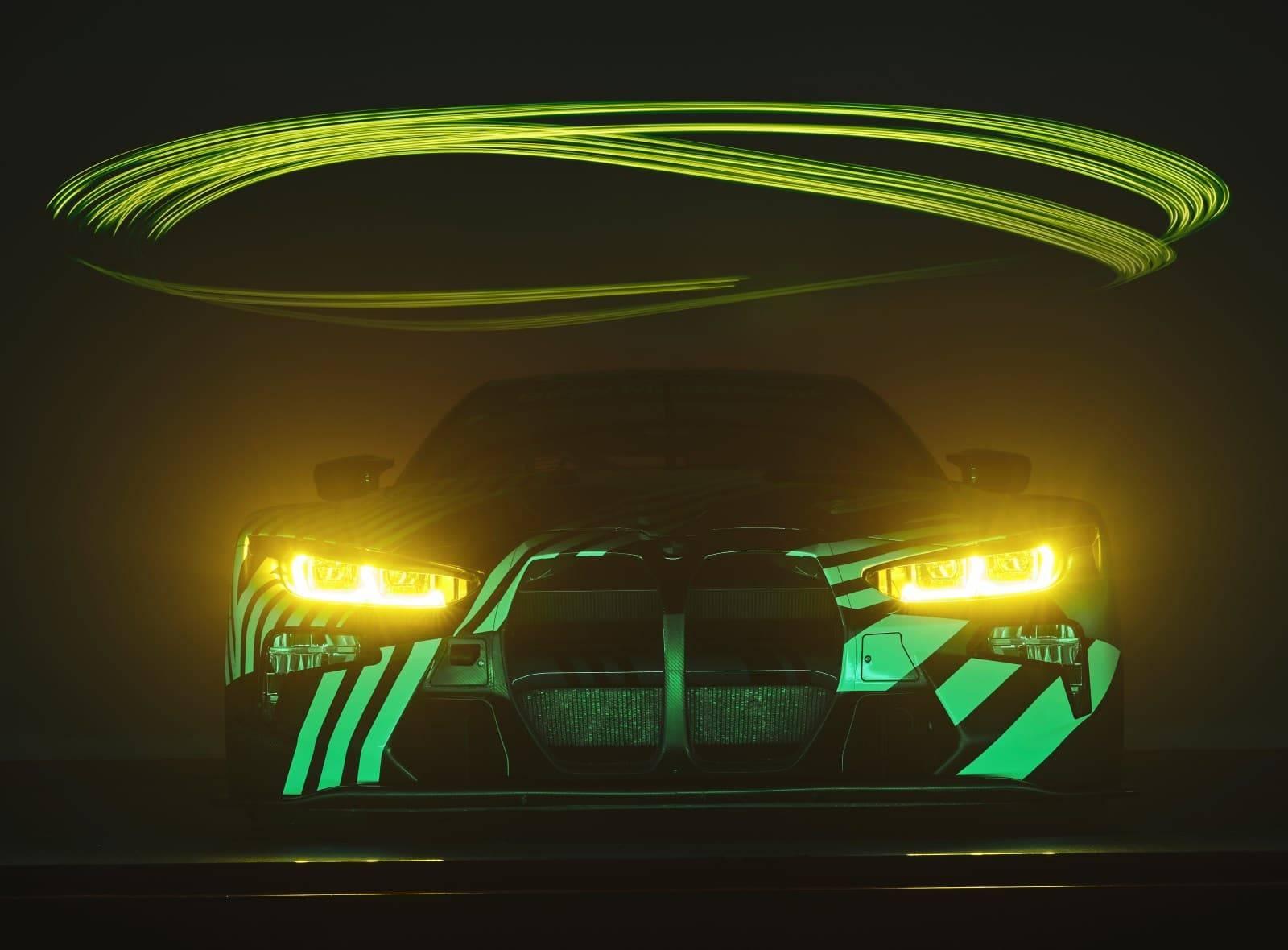 Новый BMW M4 GT3 - мощь и инновации 4
