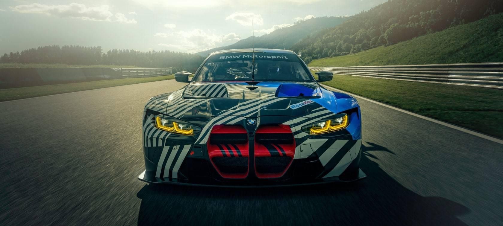 Новый BMW M4 GT3 - мощь и инновации 3