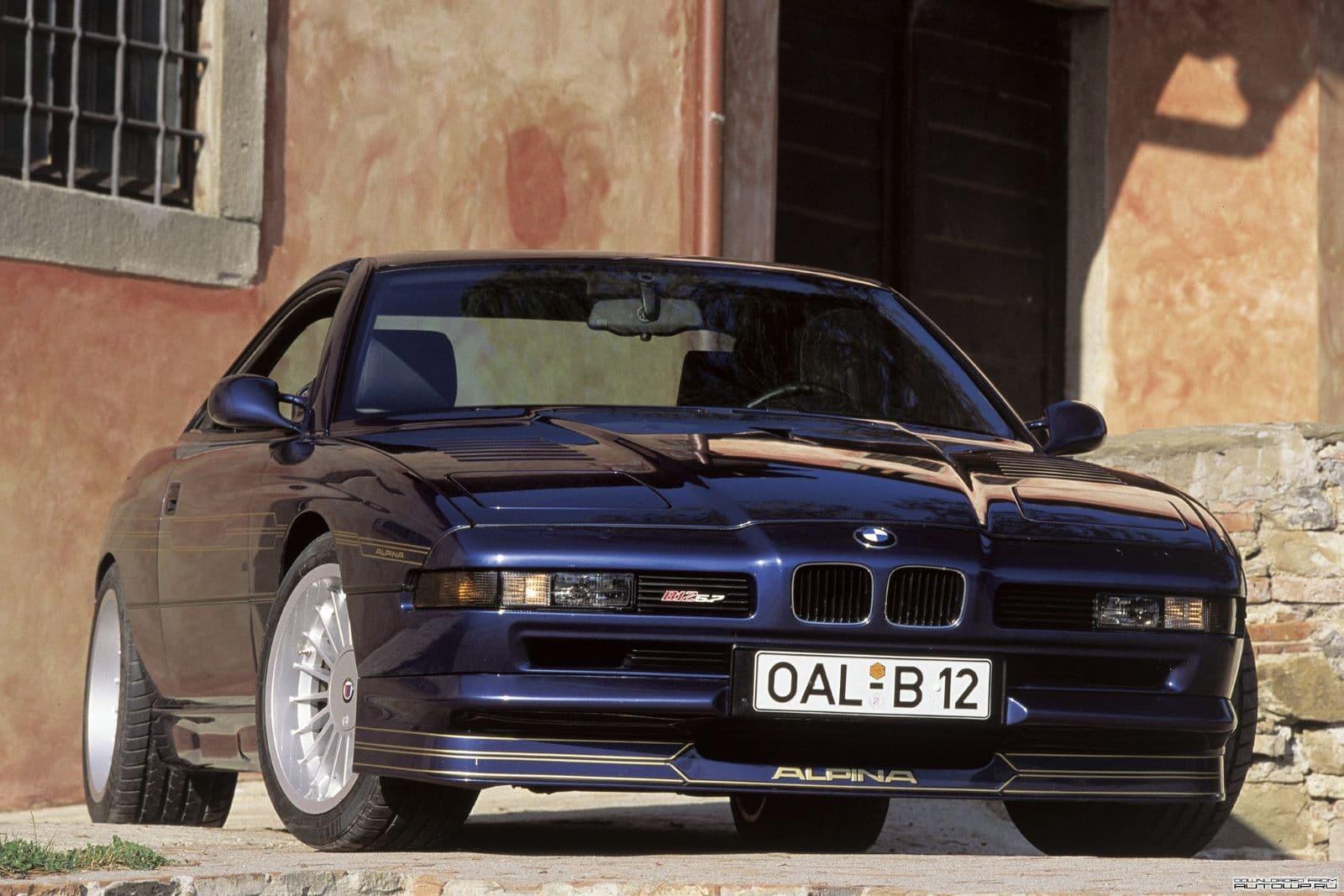 BMW 8 серии E31 - благородный флагман из 90-х 7