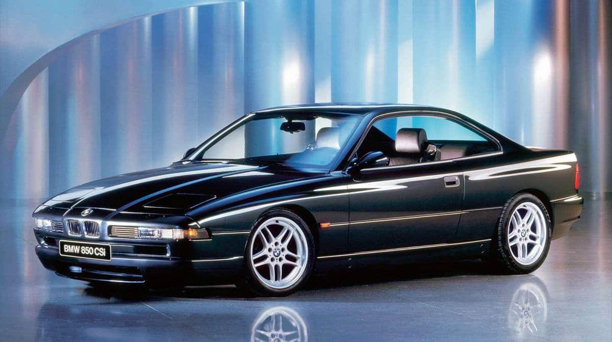 BMW 8 серии E31 - благородный флагман из 90-х 5