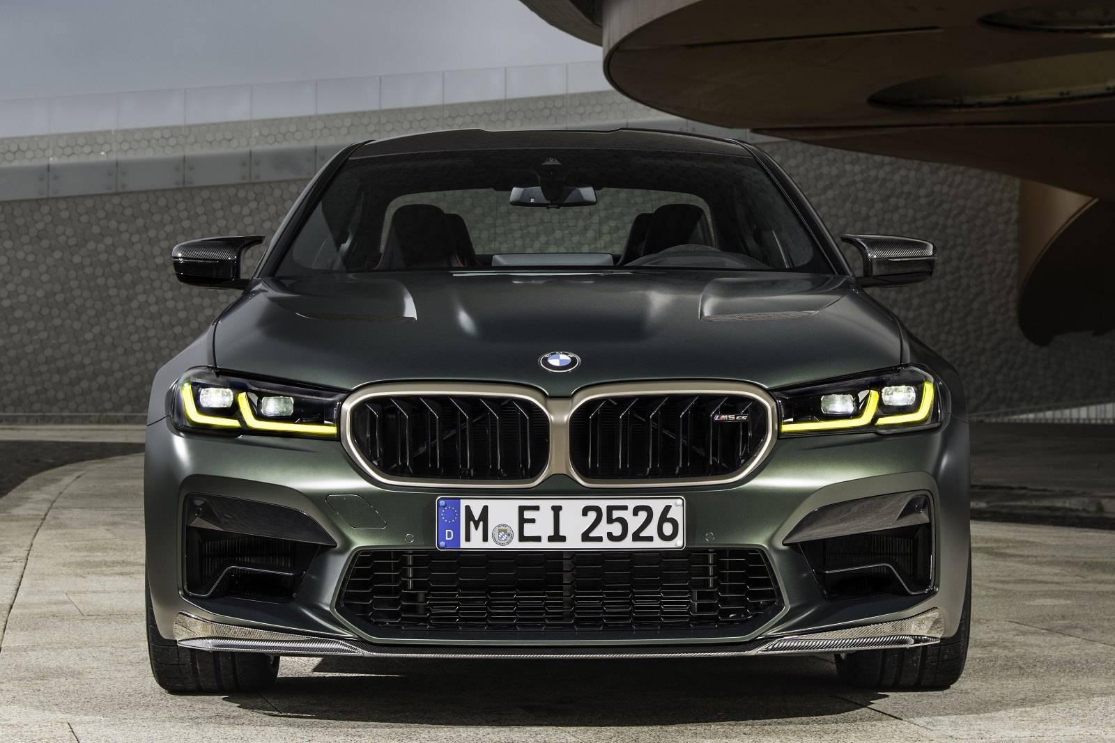 Новый BMW M5 CS F90 - мощнейший в классе 2
