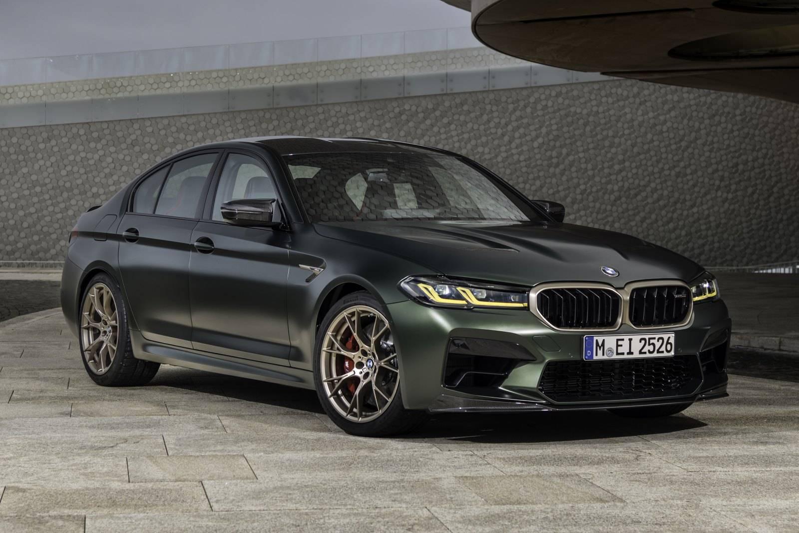 Новый BMW M5 CS F90 - мощнейший в классе 1
