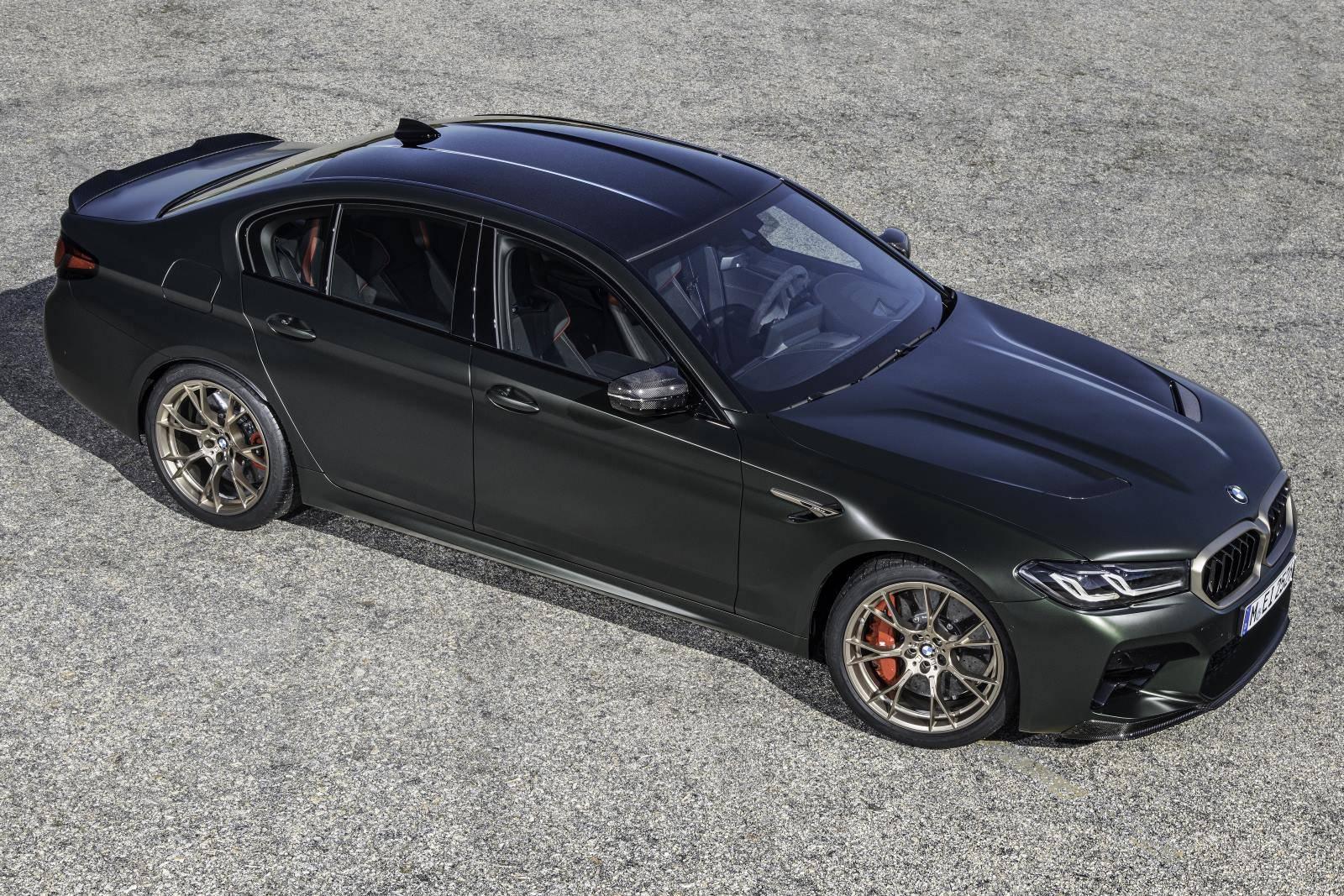 Новый BMW M5 CS F90 - мощнейший в классе 6