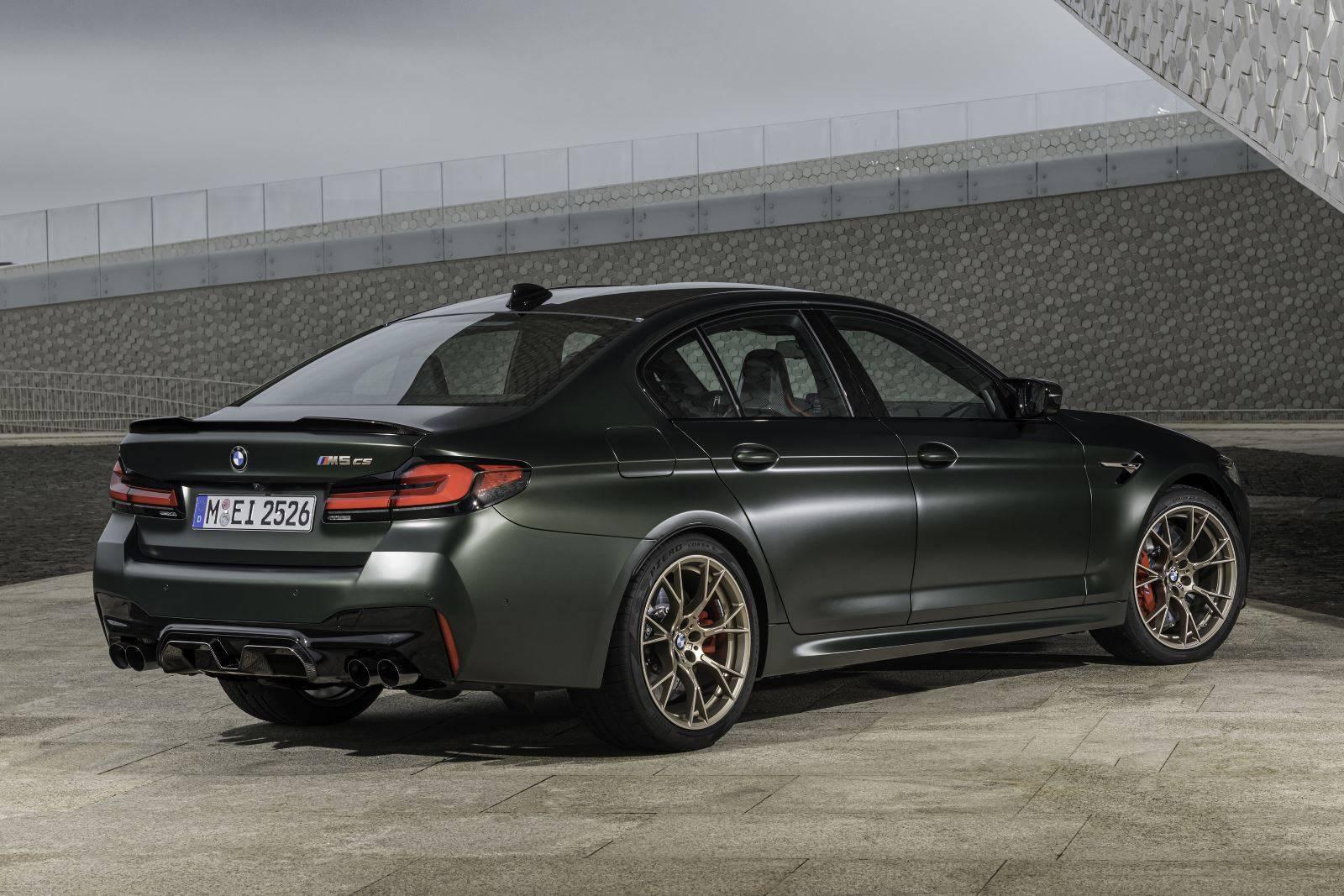 Новый BMW M5 CS F90 - мощнейший в классе 3