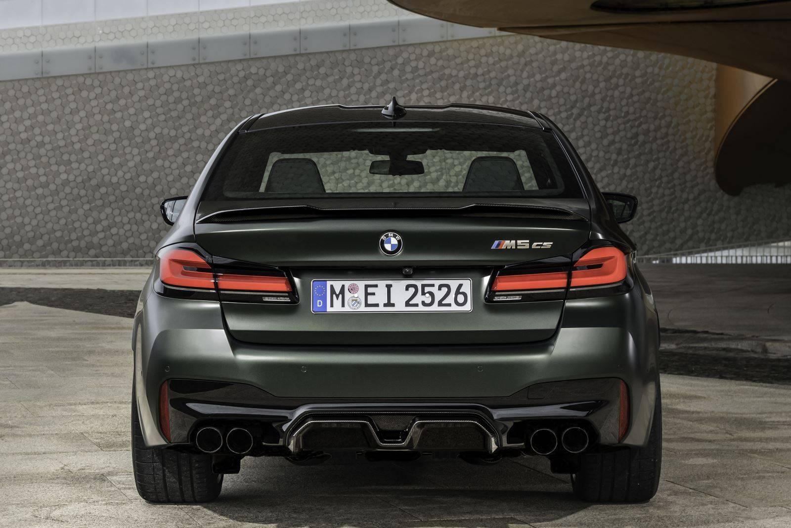 Новый BMW M5 CS F90 - мощнейший в классе 5