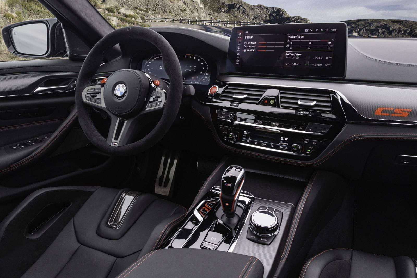 Новый BMW M5 CS F90 - мощнейший в классе 11