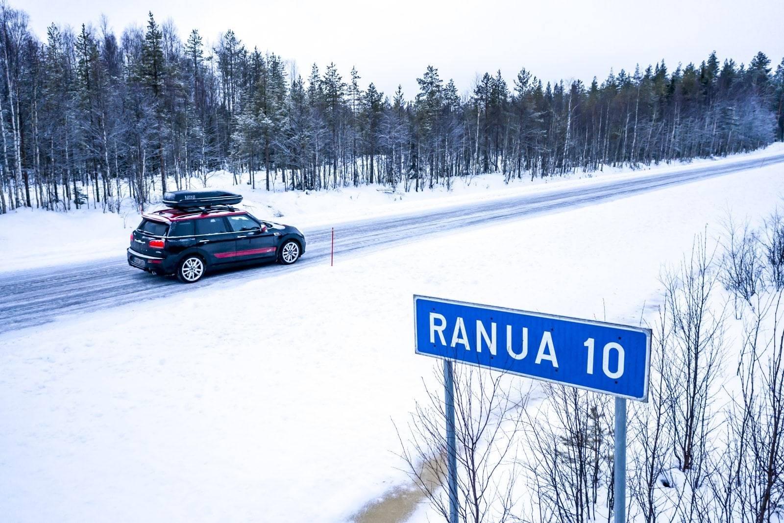 «Поездка на санях»: через Лапландию на MINI JCW Clubman 2