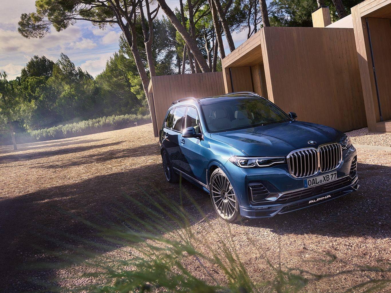 BMW ALPINA XB7 для приключений первого класса 3