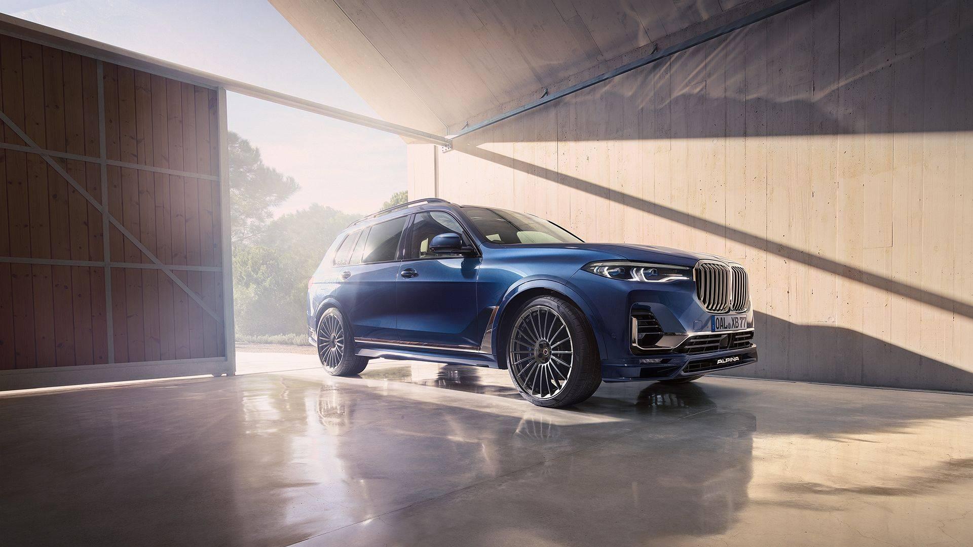 BMW ALPINA XB7 для приключений первого класса 1