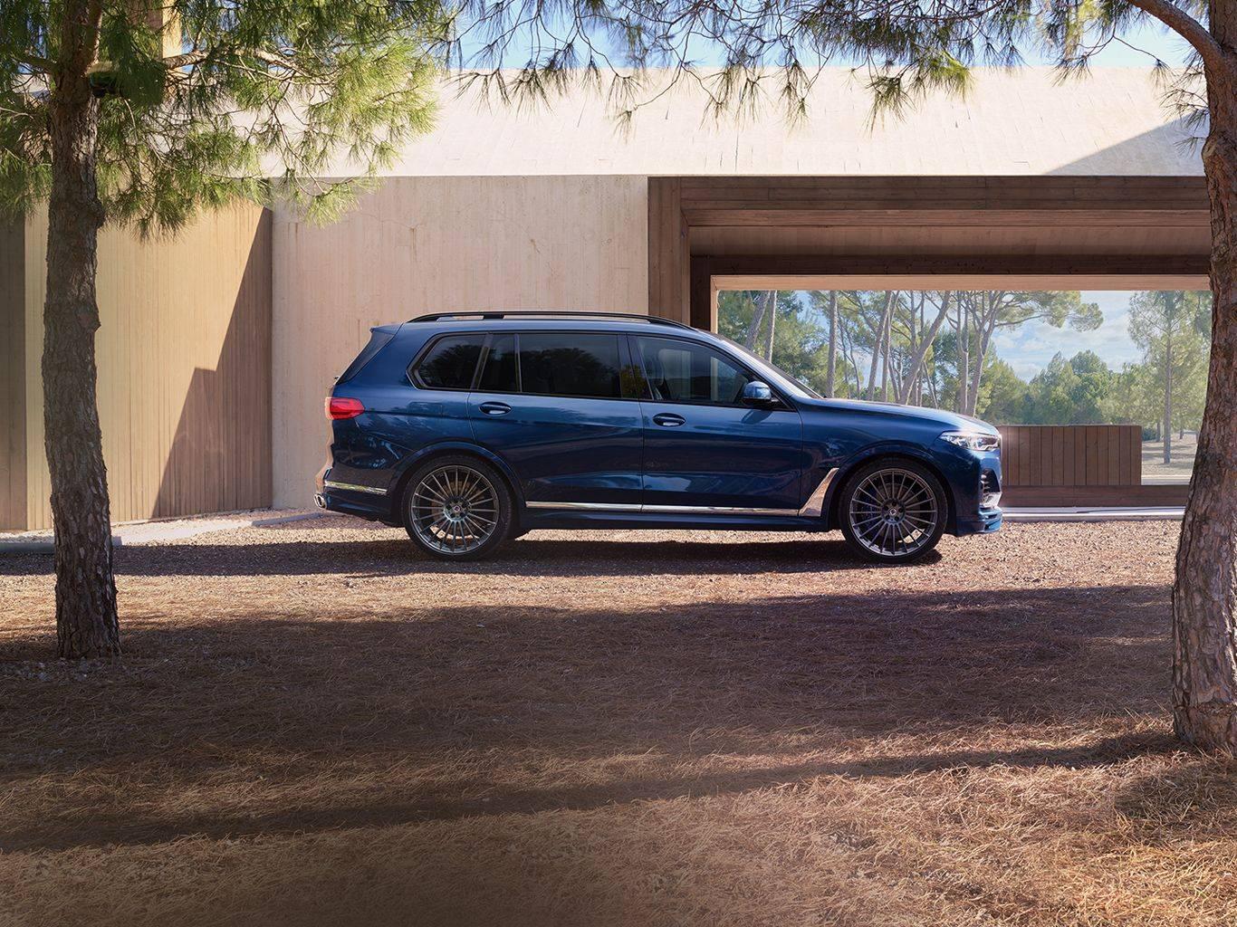 BMW ALPINA XB7 для приключений первого класса 4