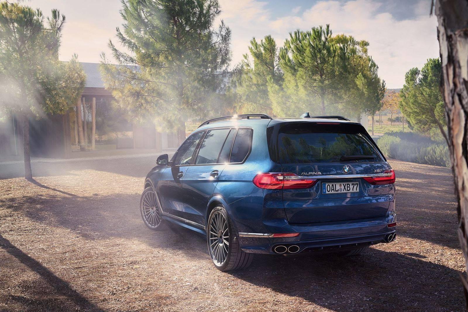 BMW ALPINA XB7 для приключений первого класса 5