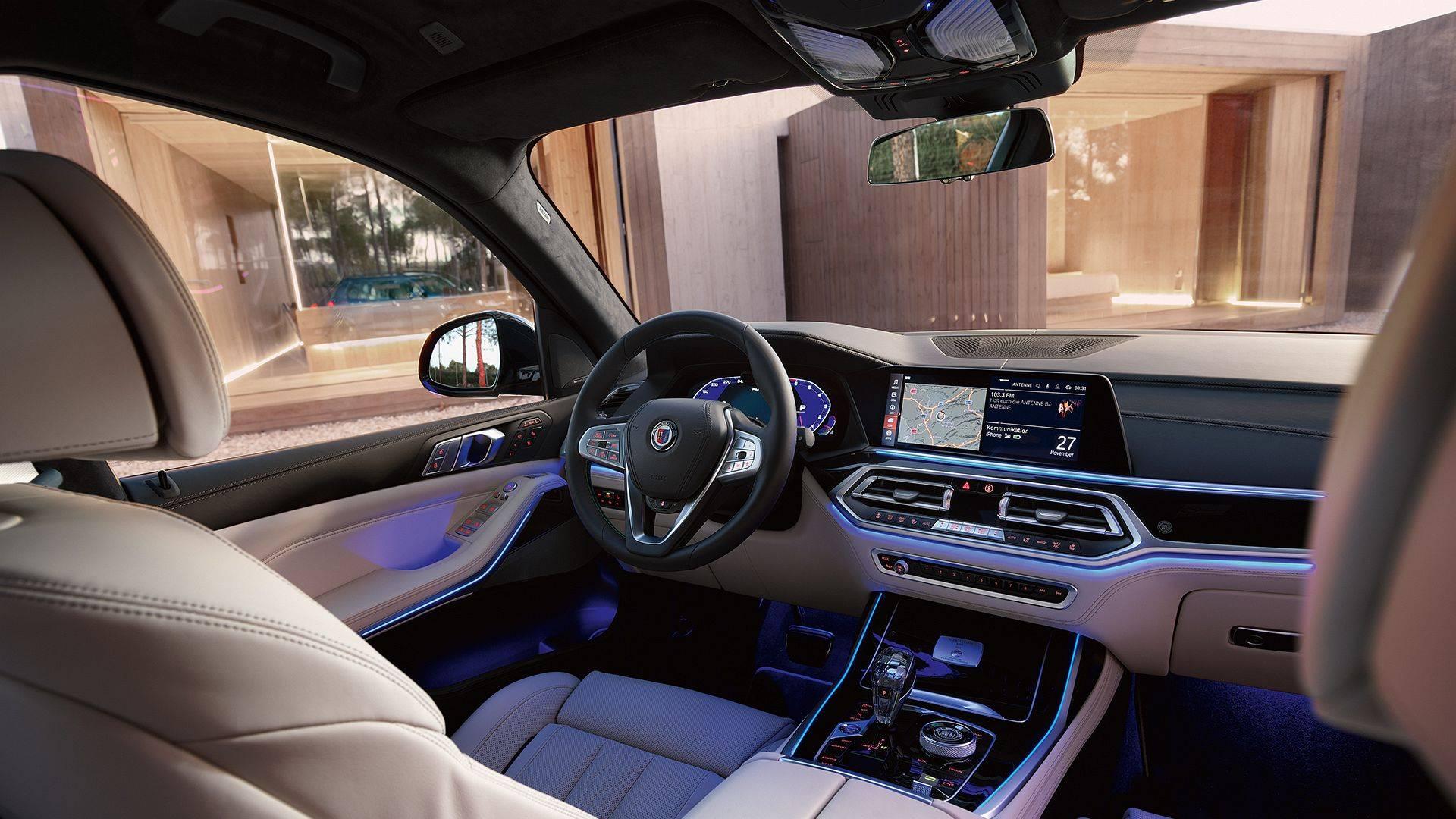 BMW ALPINA XB7 для приключений первого класса 7