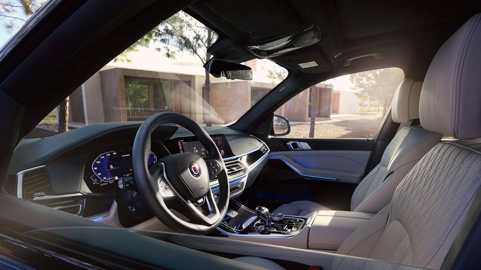 BMW ALPINA XB7 для приключений первого класса 9