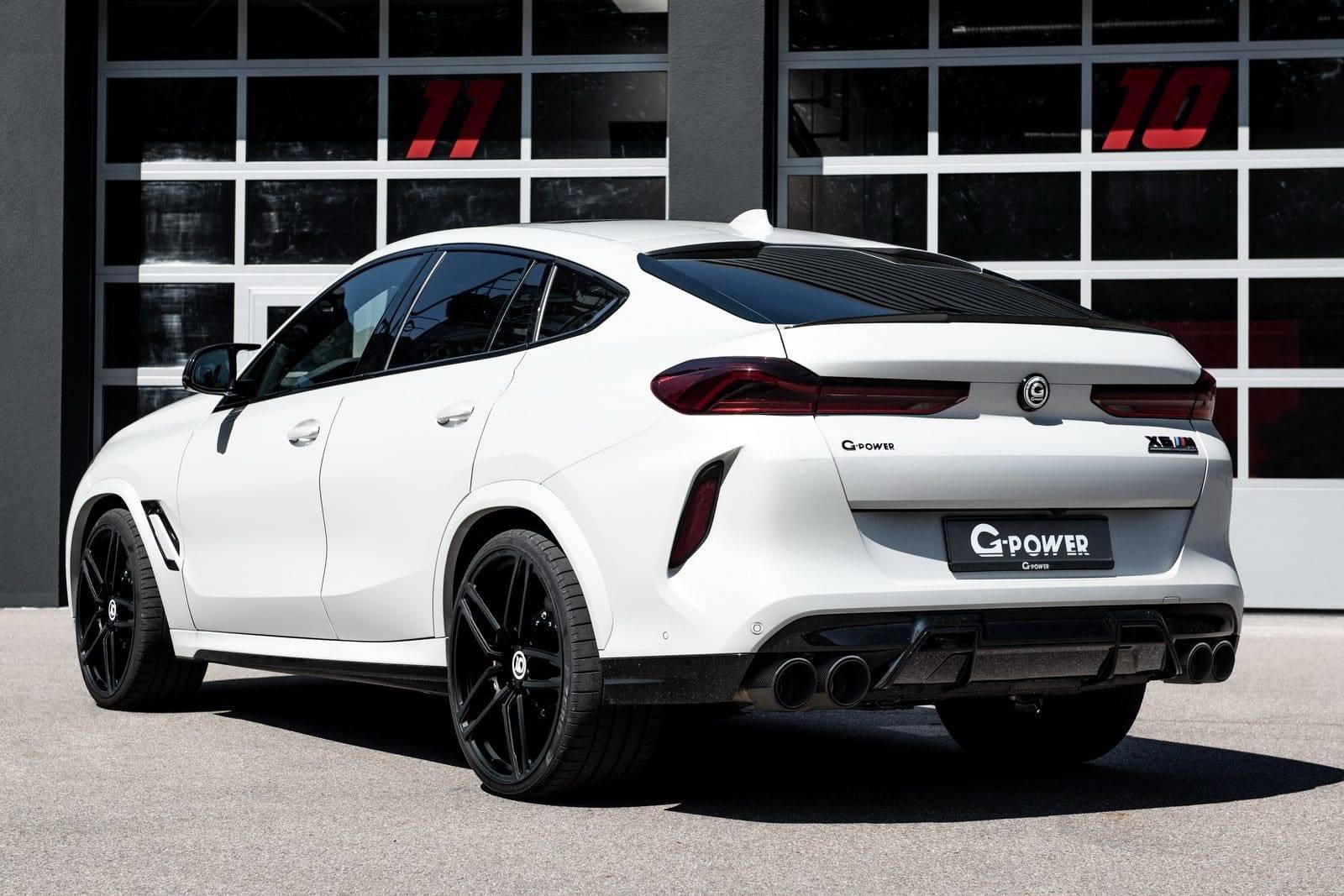 G-Power прокачал BMW X6 M Competition до 800 л.с. 5