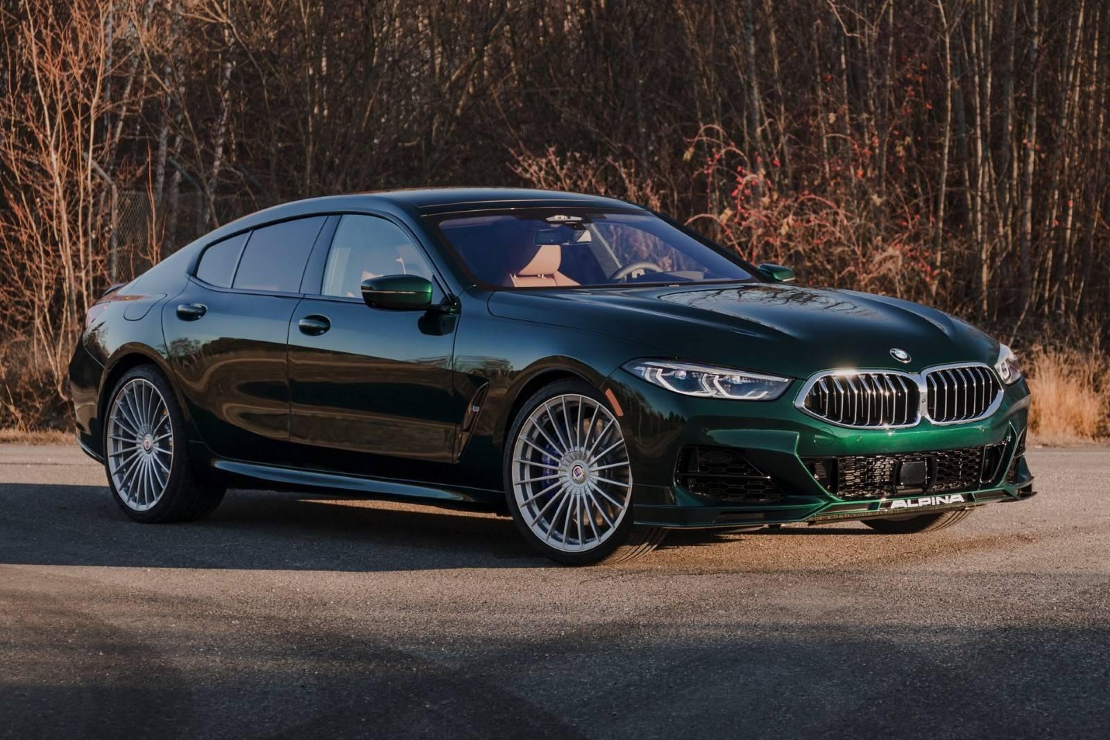 BMW ALPINA B8 Gran Coupe 1