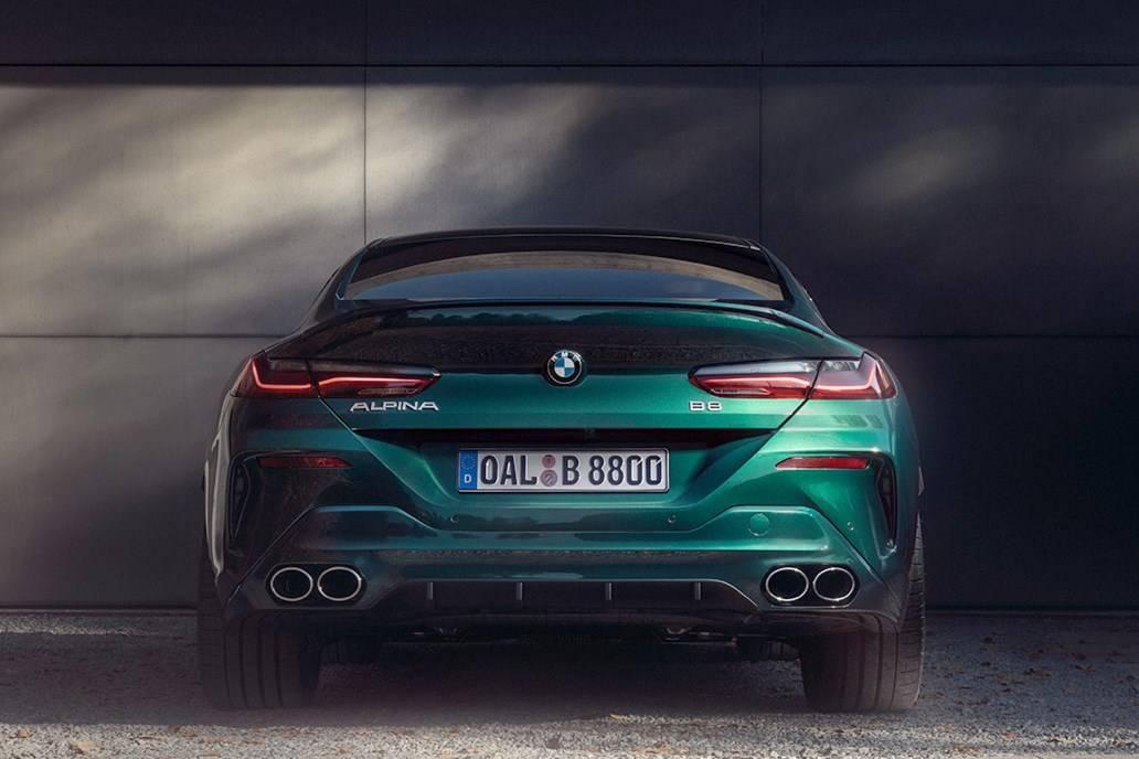 BMW ALPINA B8 Gran Coupe 7