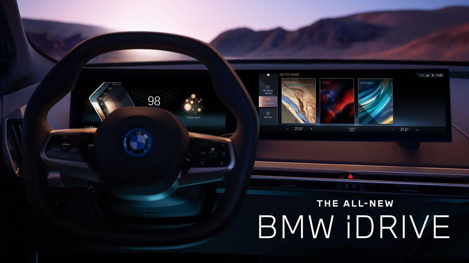 Новые BMW iX xDrive40 и BMW iX xDrive50 9