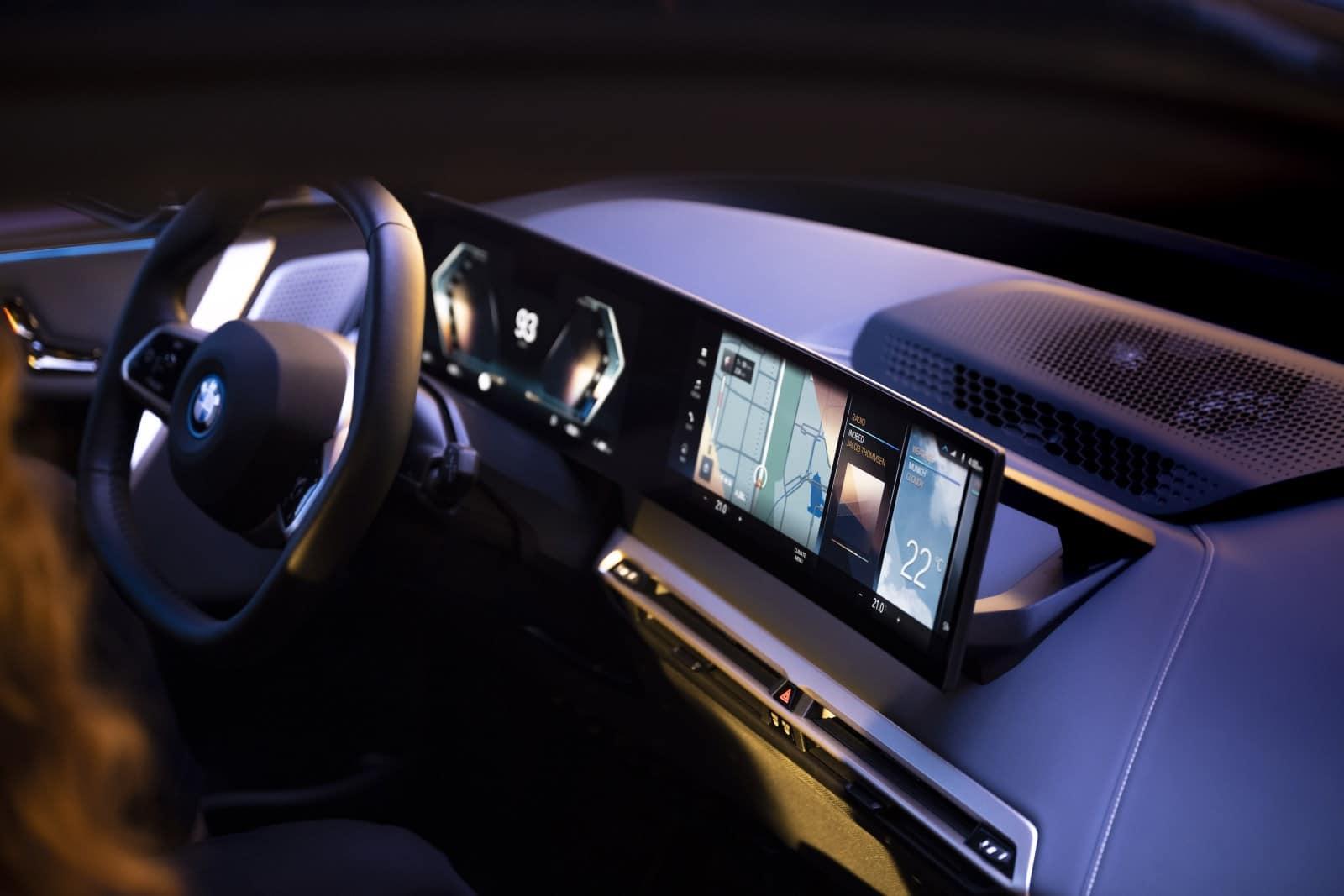 BMW iDrive - новая мультимедийная система на ОС BMW 8 3