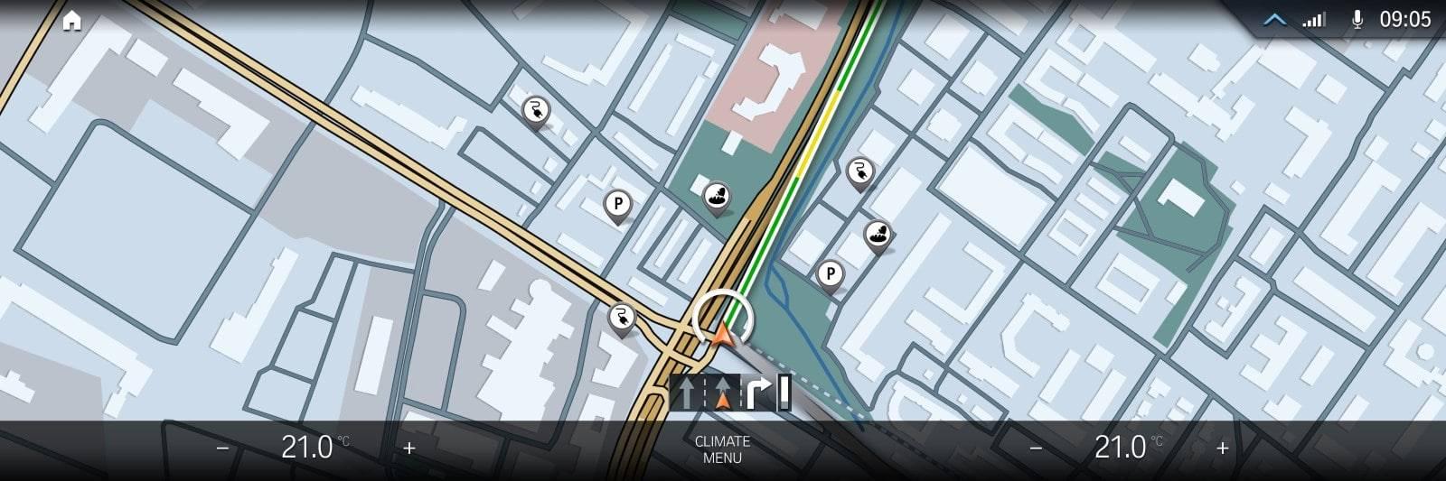 BMW iDrive - новая мультимедийная система на ОС BMW 8 6
