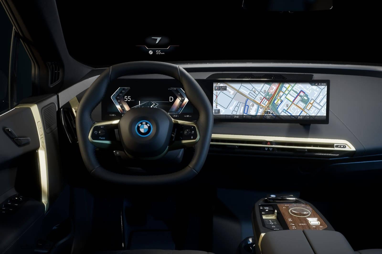 BMW iDrive - новая мультимедийная система на ОС BMW 8 7