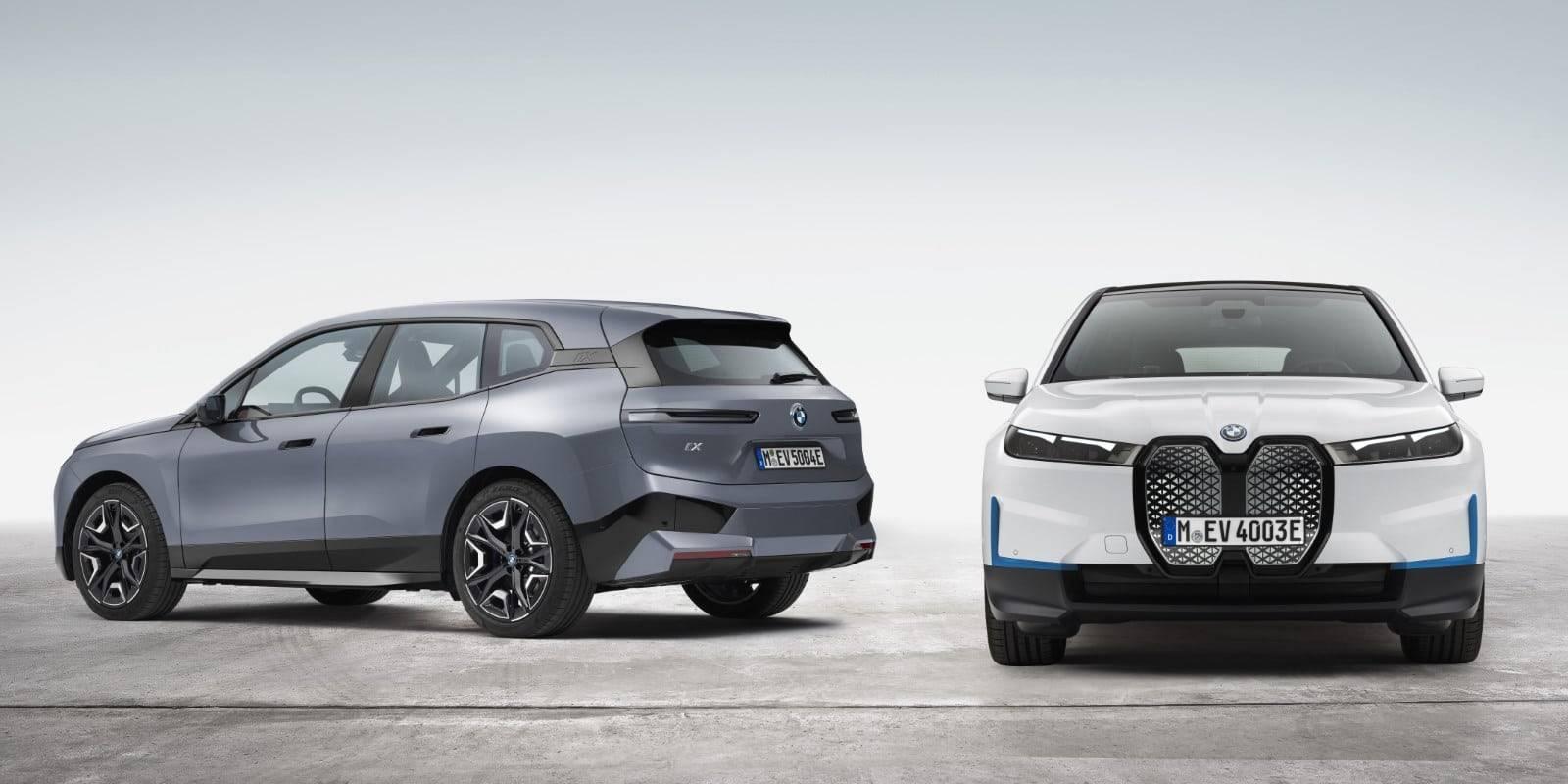Новые BMW iX xDrive40 и BMW iX xDrive50 1