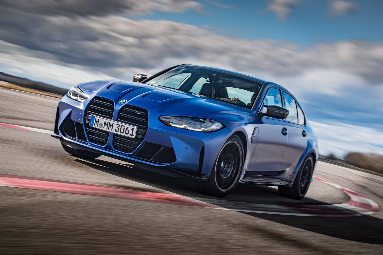 Седан BMW M3 и купе BMW M4 Competition прошли тест-драйв 7