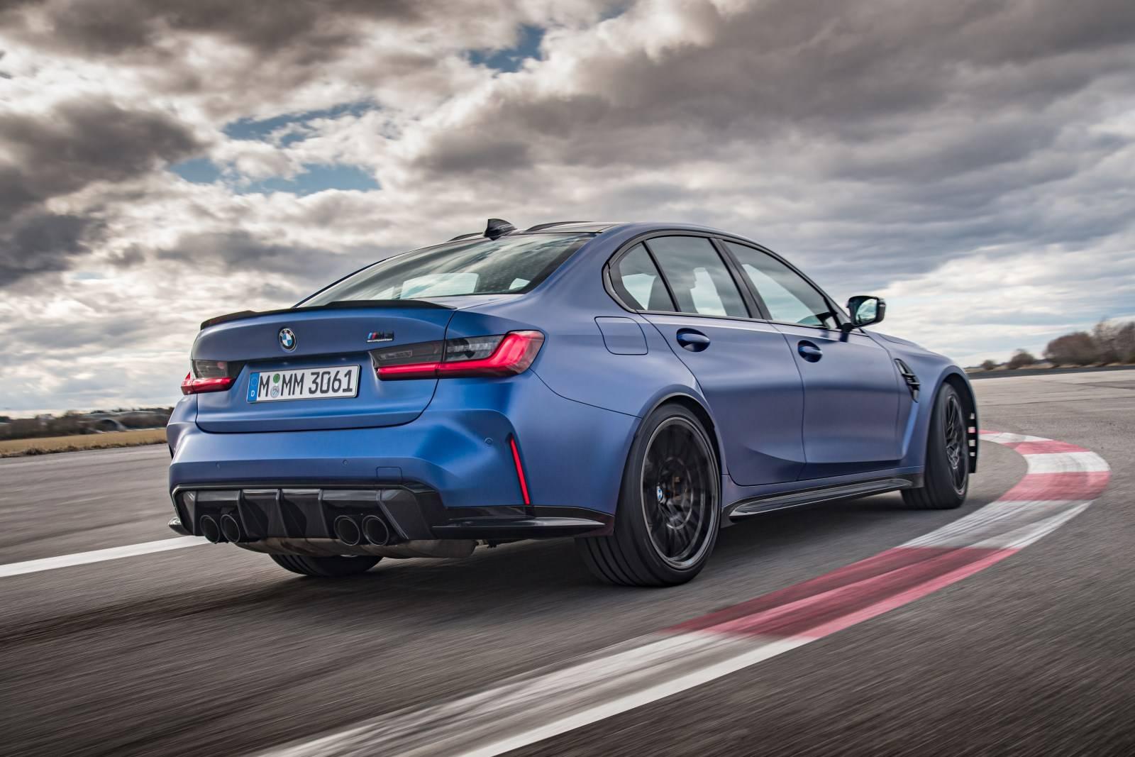 Седан BMW M3 и купе BMW M4 Competition прошли тест-драйв 9