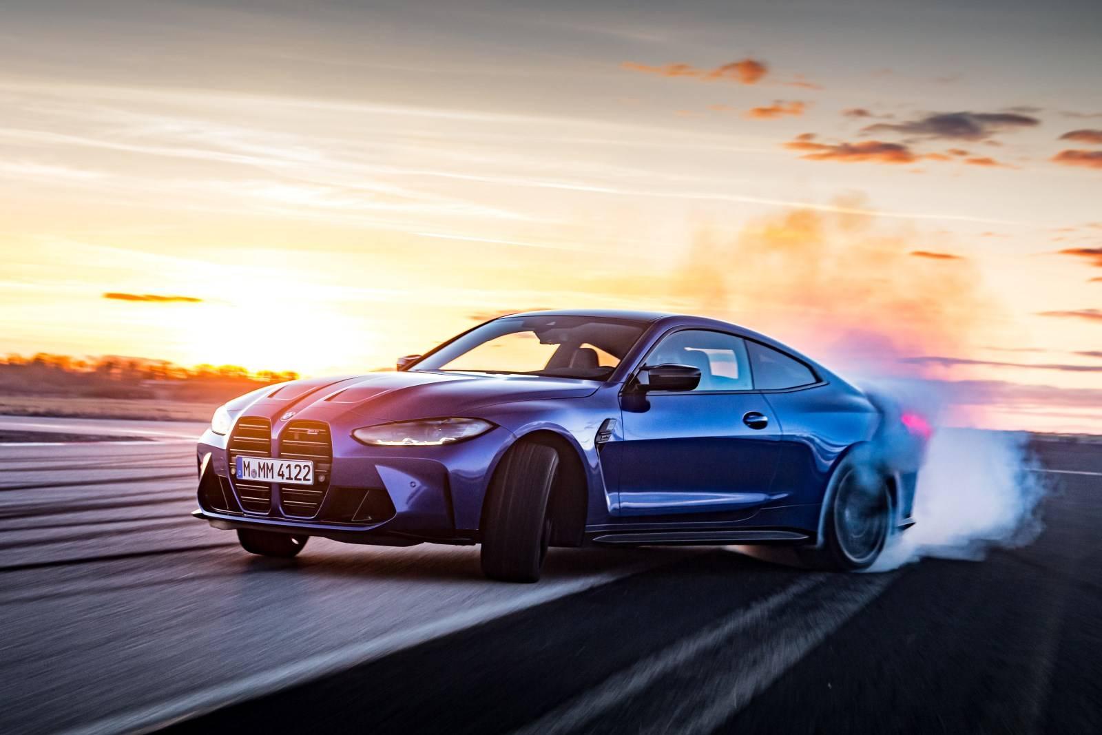 Седан BMW M3 и купе BMW M4 Competition прошли тест-драйв 1