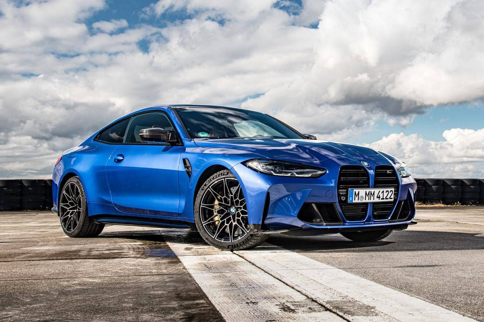 Седан BMW M3 и купе BMW M4 Competition прошли тест-драйв 2