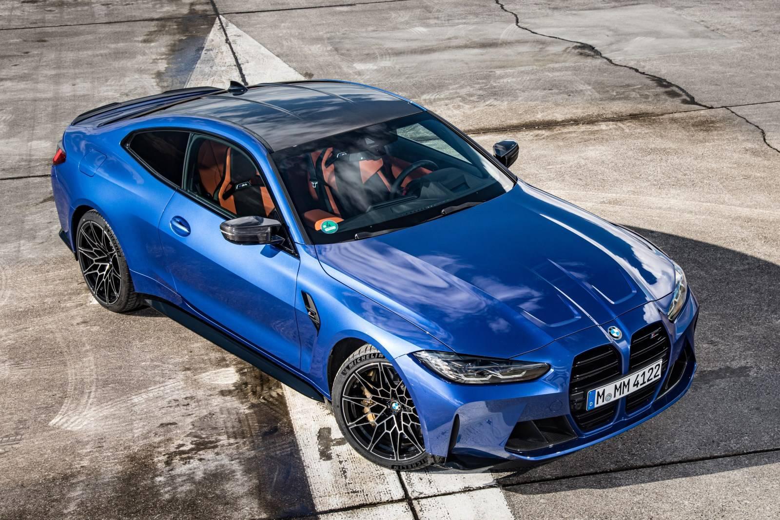 Седан BMW M3 и купе BMW M4 Competition прошли тест-драйв 3
