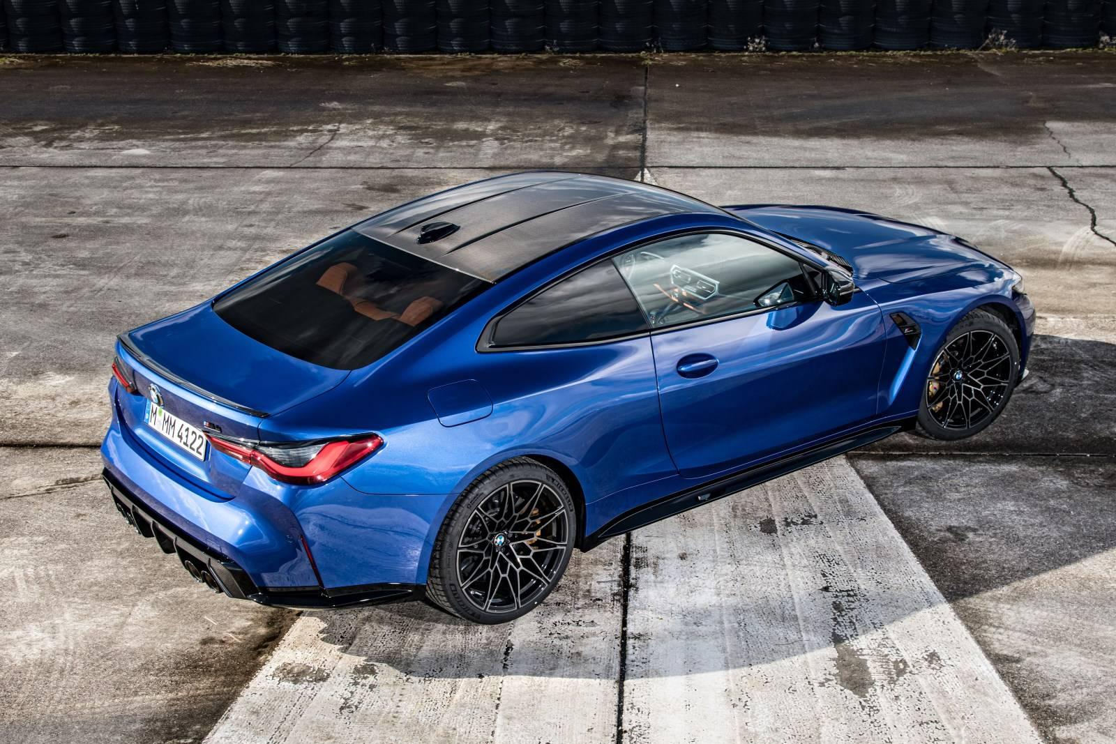 Седан BMW M3 и купе BMW M4 Competition прошли тест-драйв 4