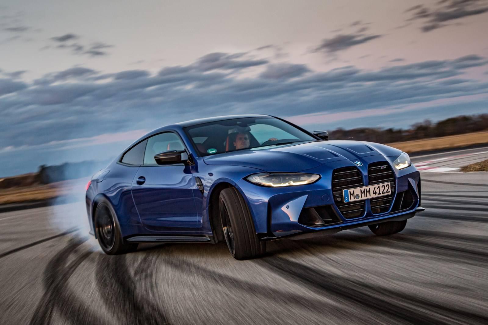 Седан BMW M3 и купе BMW M4 Competition прошли тест-драйв 5