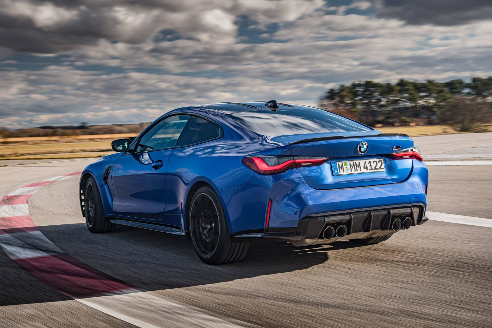 Седан BMW M3 и купе BMW M4 Competition прошли тест-драйв 6