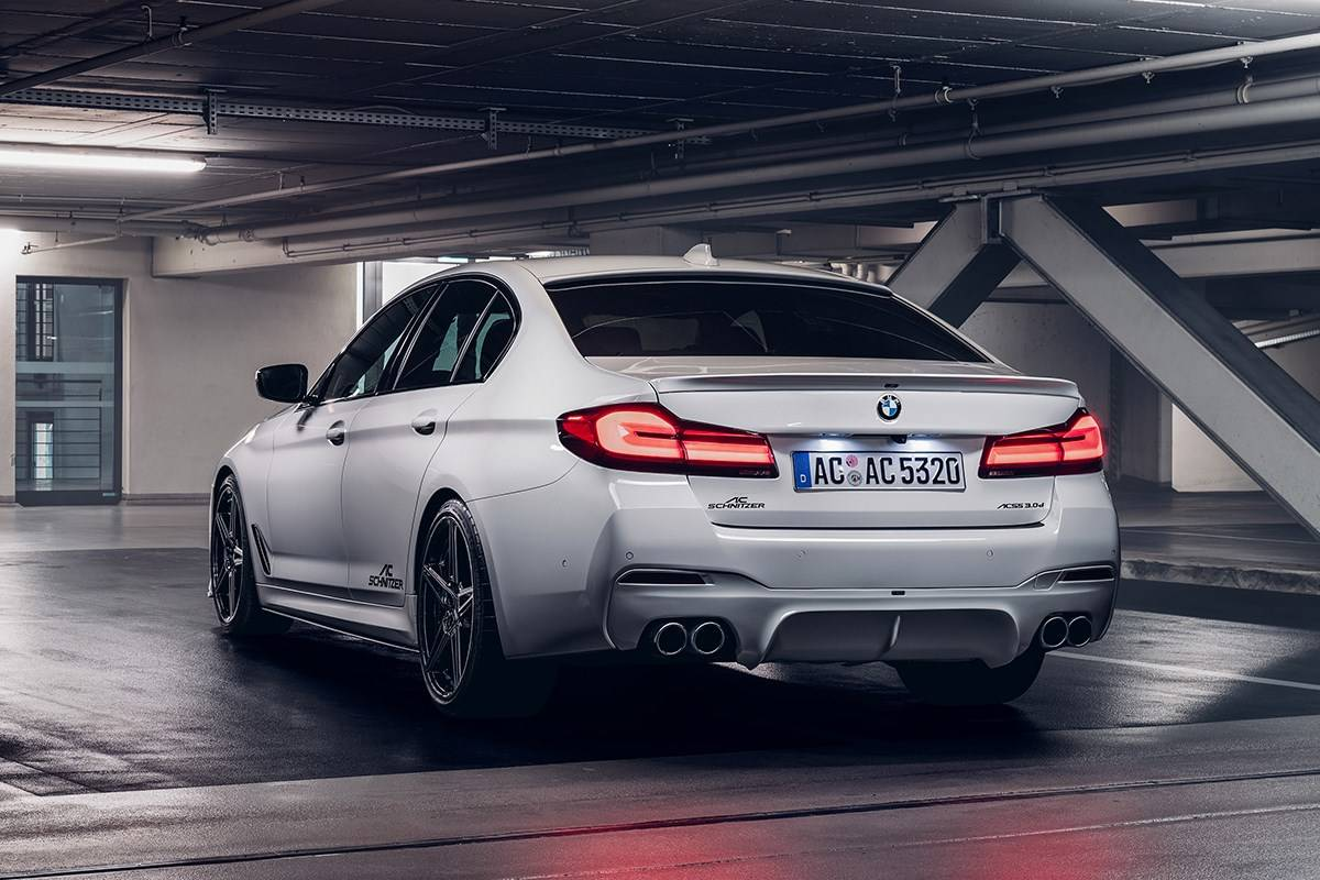 BMW 5 серии G30 и G31 LCI от ателье AC Schnitzer 4