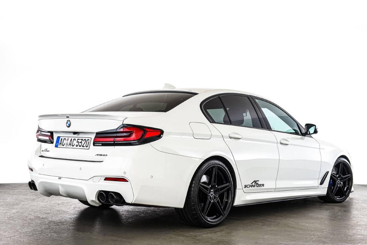BMW 5 серии G30 и G31 LCI от ателье AC Schnitzer 9