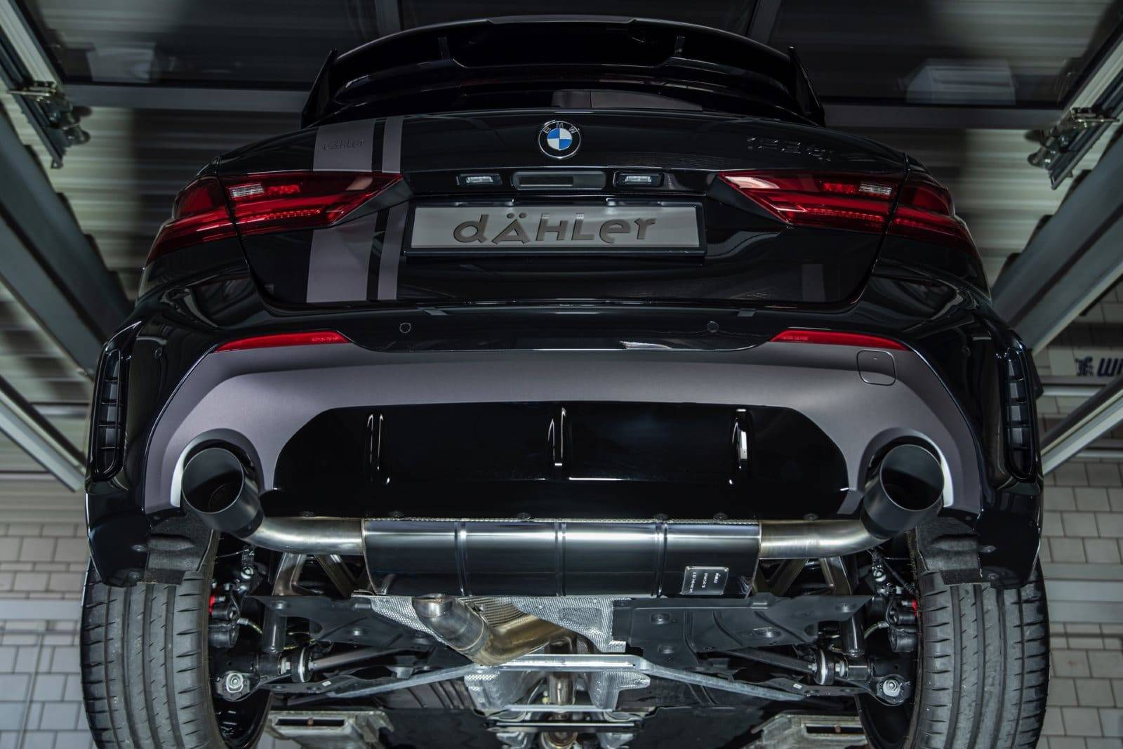 BMW 128tii F40 от ателье Dähler 7